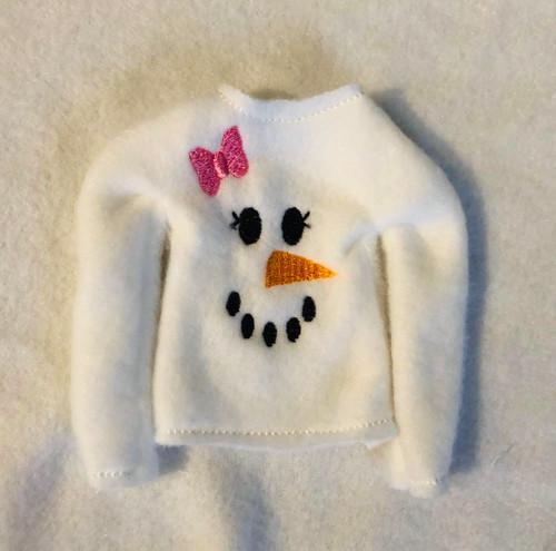 5x7 Slim Fit Elf Snowman 6