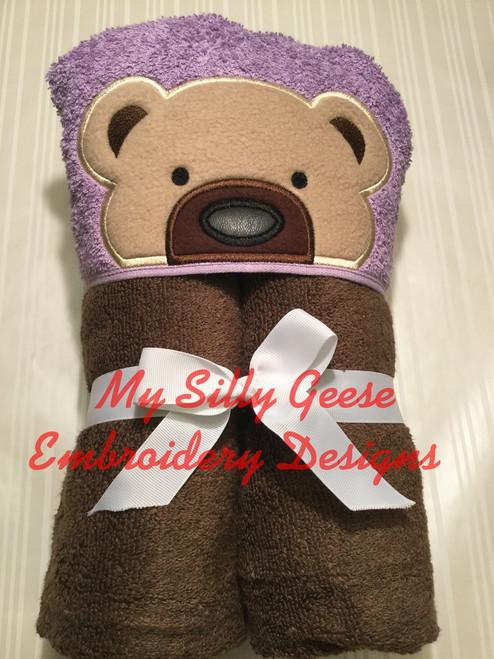 5x7 Teddy Bear Peeker