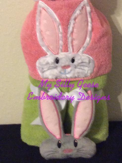 4x4 Bunny Set - Peeker & Stuffed