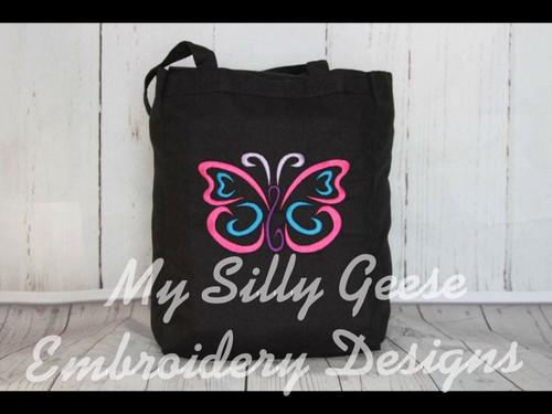 4x4 Butterfly Satin