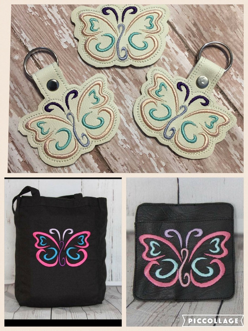4x4 Butterfly Set