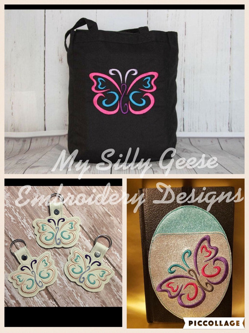 5x7 Butterfly Set