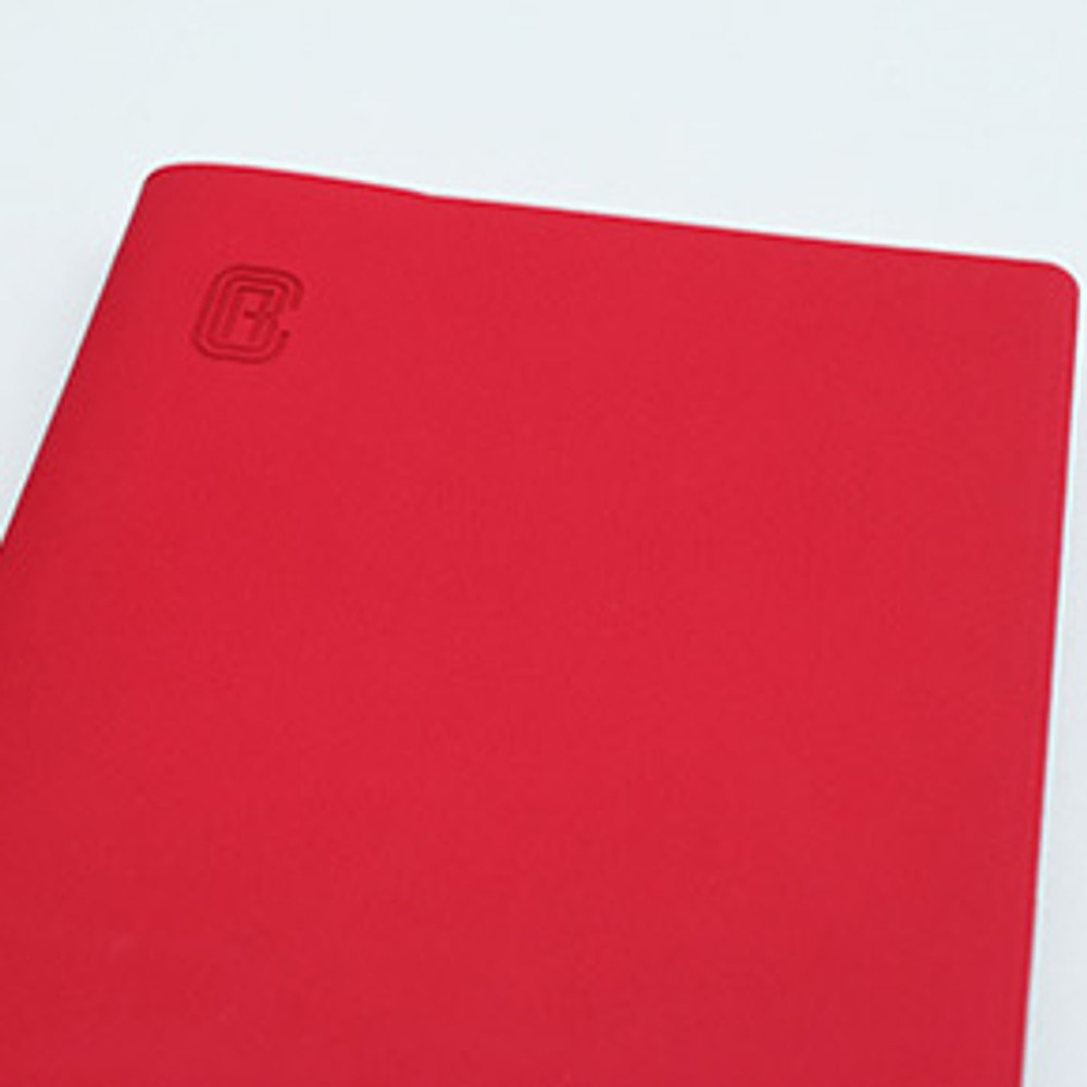 PU cover - Bookfriends ABC large grid notebook