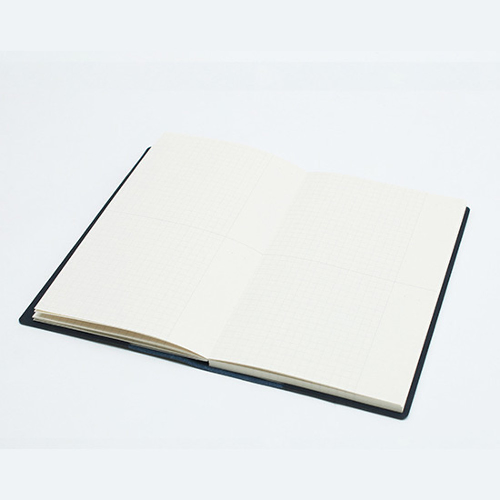 Free(grid) note - Bookfriends ABC large grid notebook