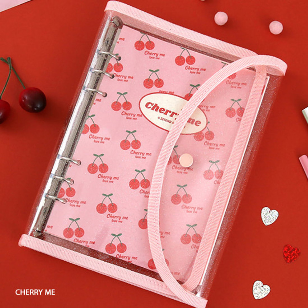Cherry me - Second Mansion Retro A5 6-ring dateless weekly diary planner