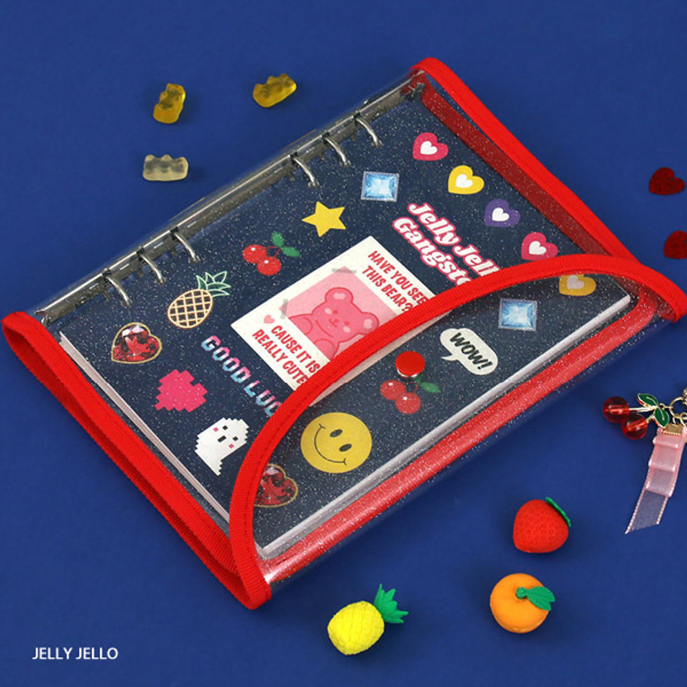 Jelly jello - Second Mansion Retro A5 6-ring dateless weekly diary planner