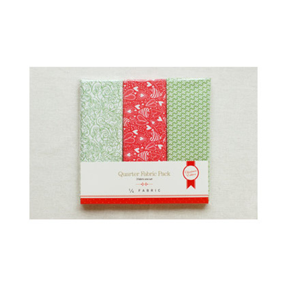 Package for Quarter cotton fabric pack