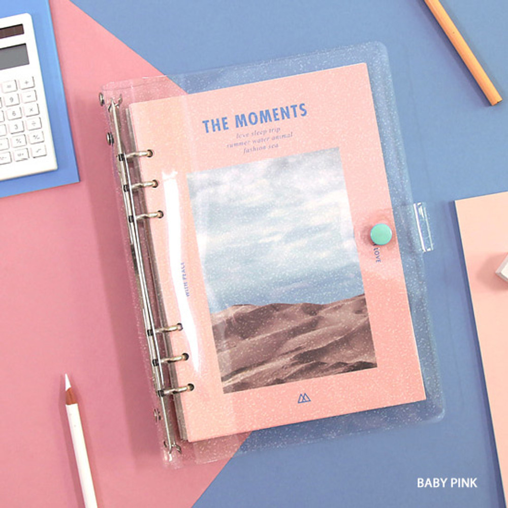 Baby Pink - Second Mansion Moment A5 6ring dateless weekly diary planner