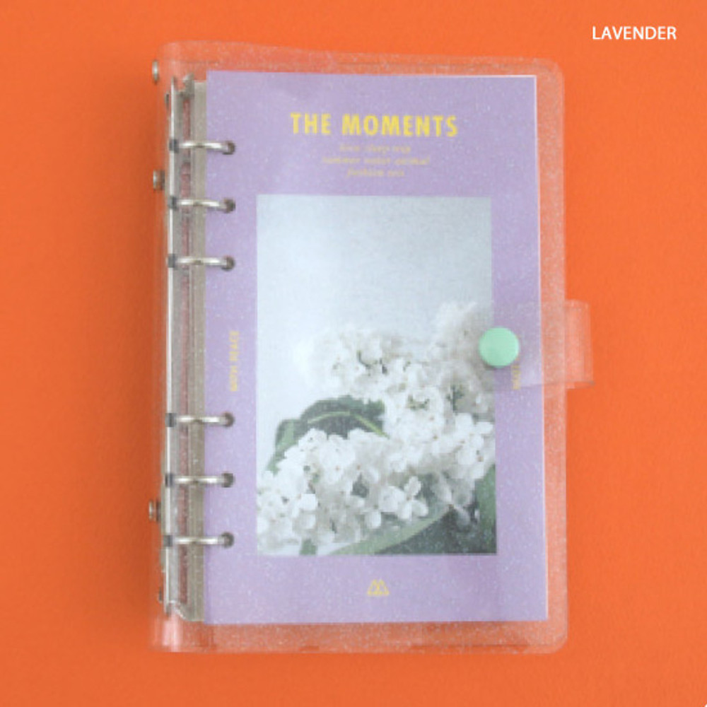 Lavender - Second Mansion Moment A6 6-ring dateless weekly diary planner
