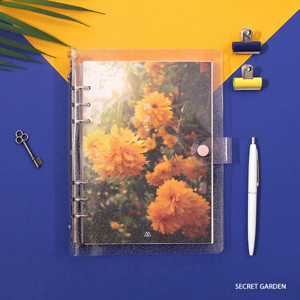 Secret garden - Second Mansion Damwha 6-ring A5 size grid notebook
