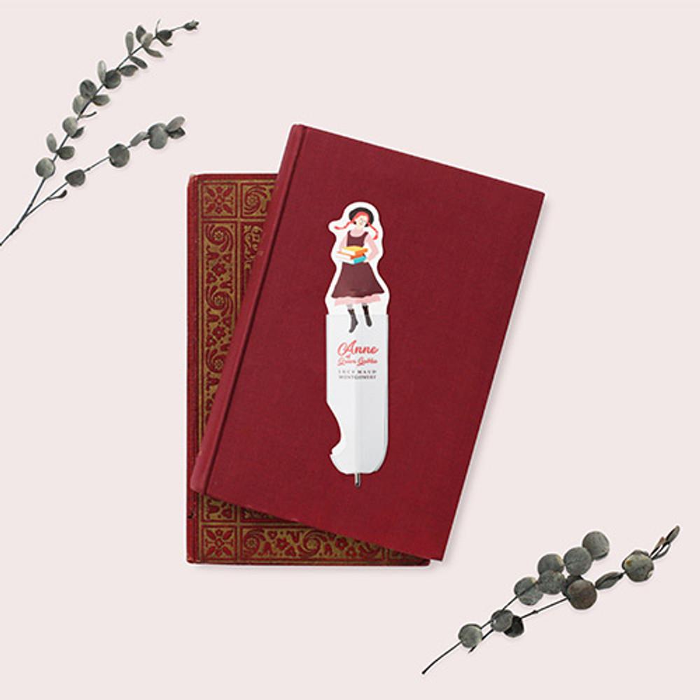 Bookfriends Anne of green gables flat boomark ballpoint pen