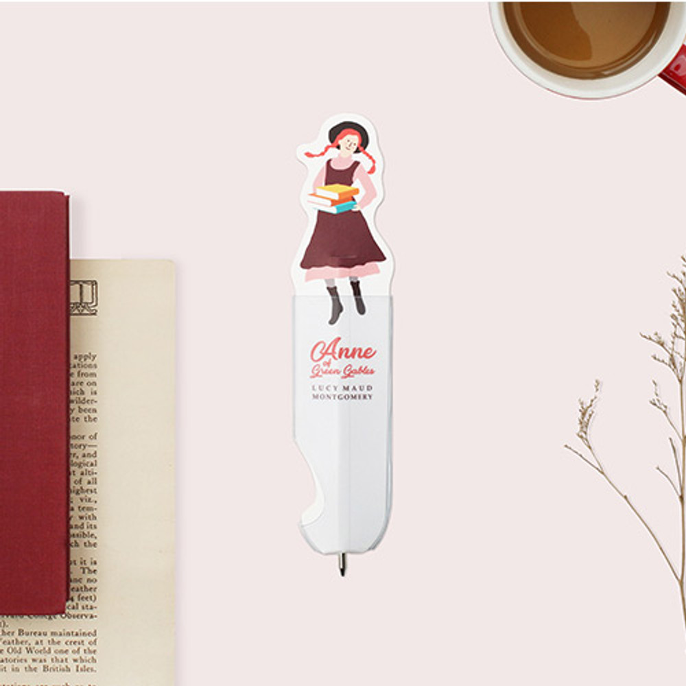 Bookfriends Anne of green gables flat bookmark ballpoint pen
