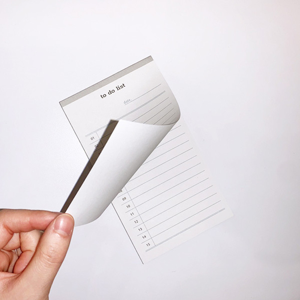 Easy tear out - N.IVY Today is to do list memo checklist notepad