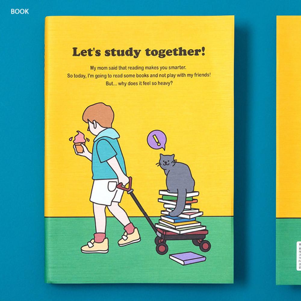 Book - Ardium Color point 128 days dateless study planner
