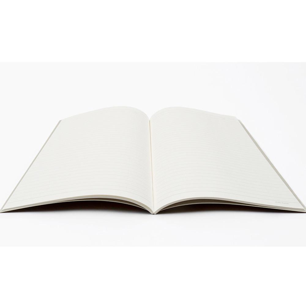 Opens flat - Bookfriends World literature lined school study notebook