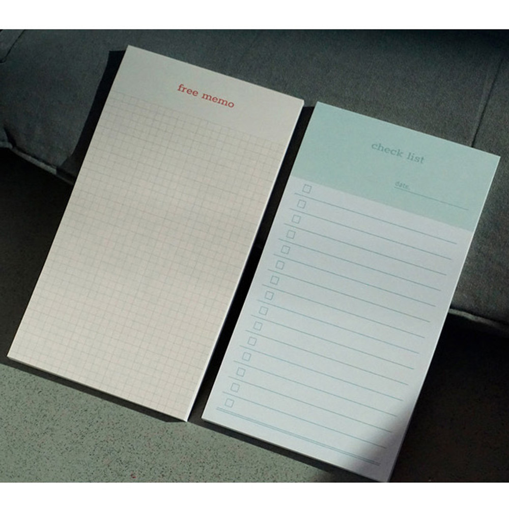 N.IVY Today is grid free memo notepad checklist