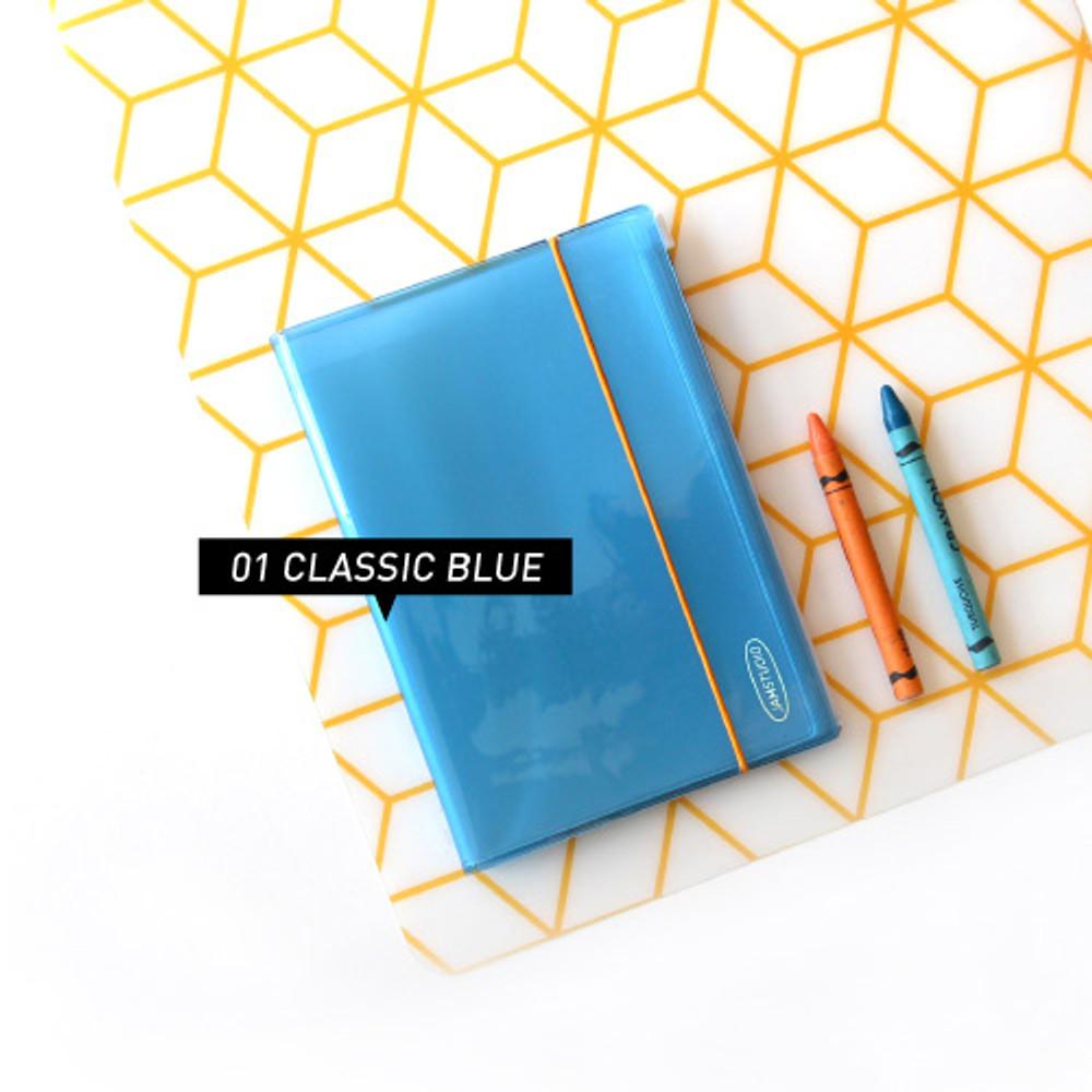 Blue - Jam Studio Moa Moa slip in pocket postcard photo album