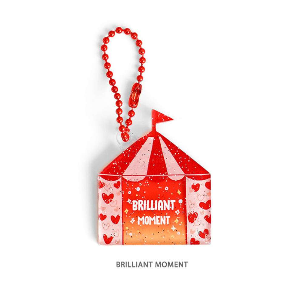 Brilliant moment - Oh-ssumthing O-ssum shiny charm with chain strap