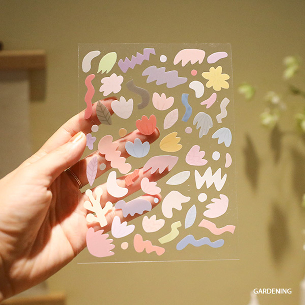 Gardening - Oh-ssumthing O-ssum sticker for decoration ver2