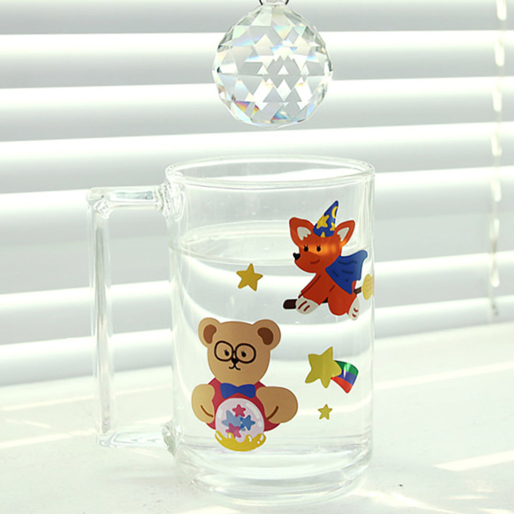 Usage example - Project job my juicy bear removable sticker