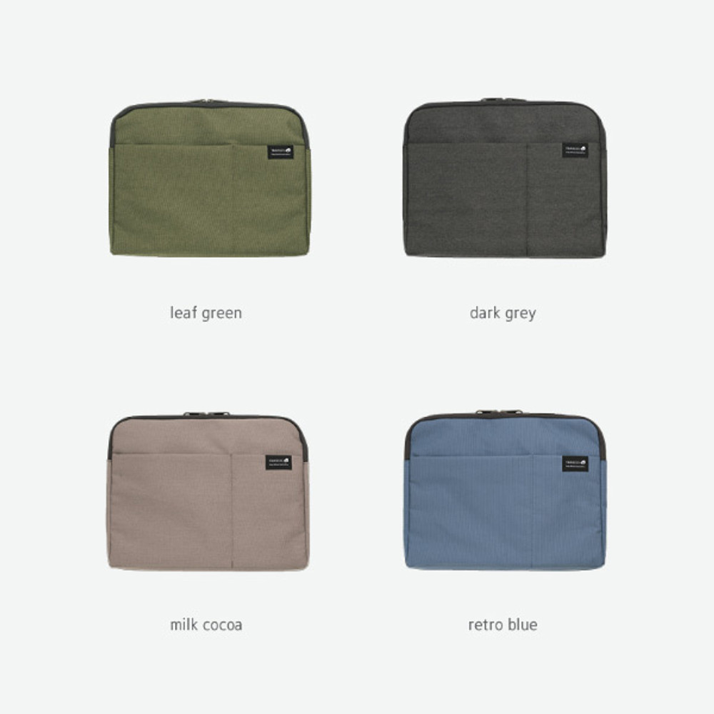 Color - Byfulldesign Minimal life 13 inches laptop pouch bag