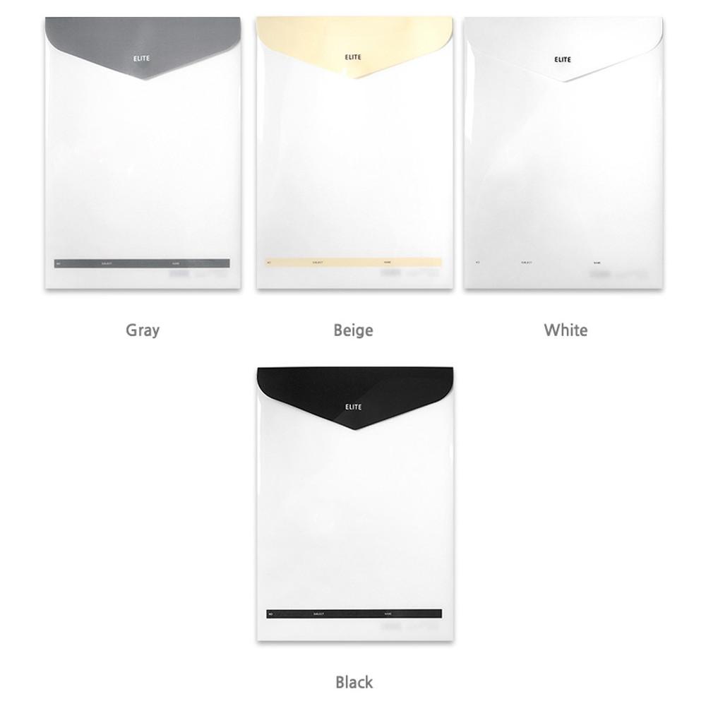 Color - 2young Elite A4 file folder pouch set