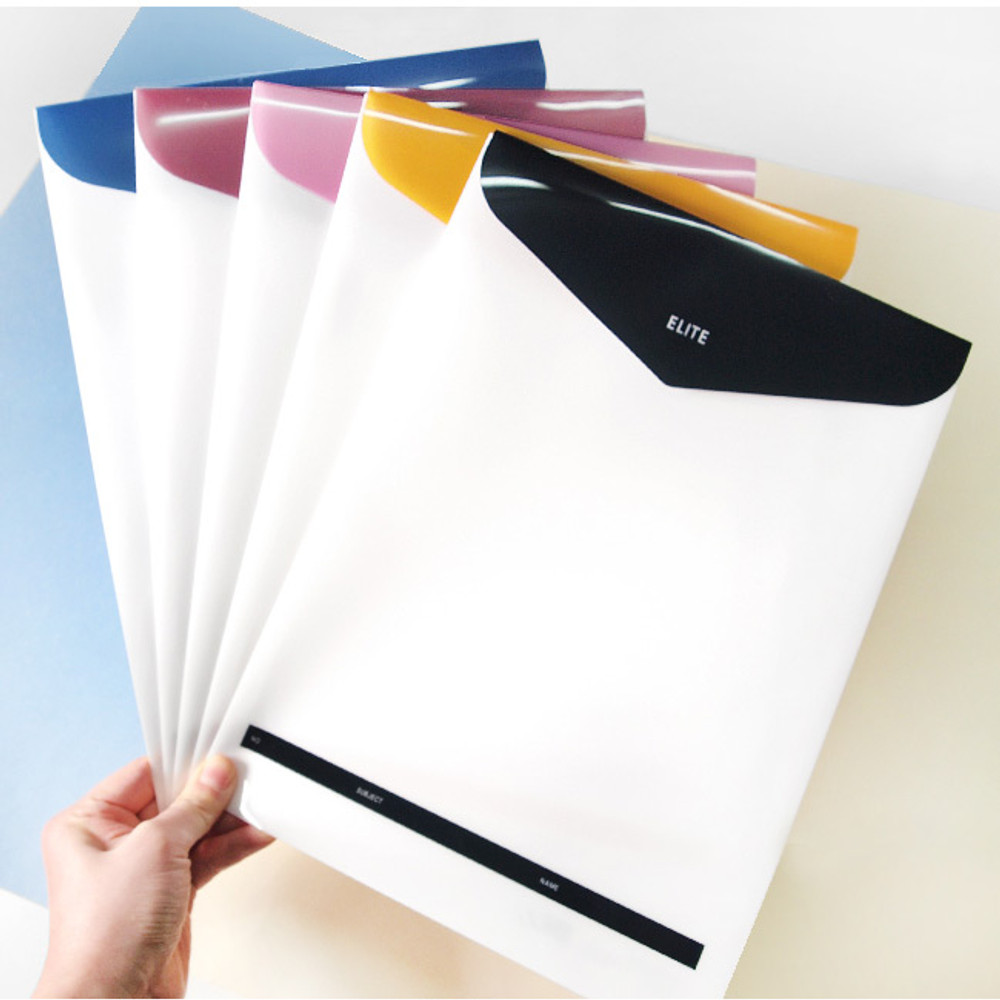 Usage example - 2young Elite A4 file folder pouch set