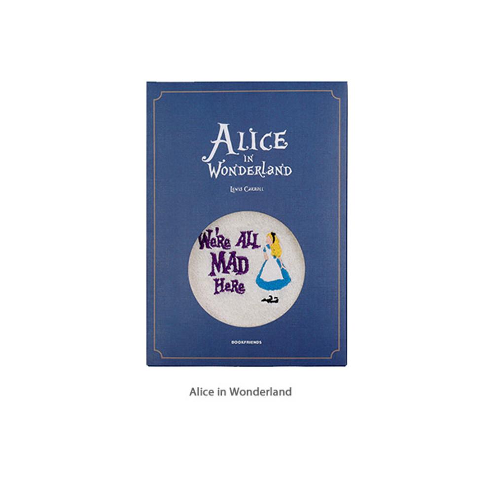Alice in Wonderland - Bookfriends Anne and Alice hanging tie towel gift package