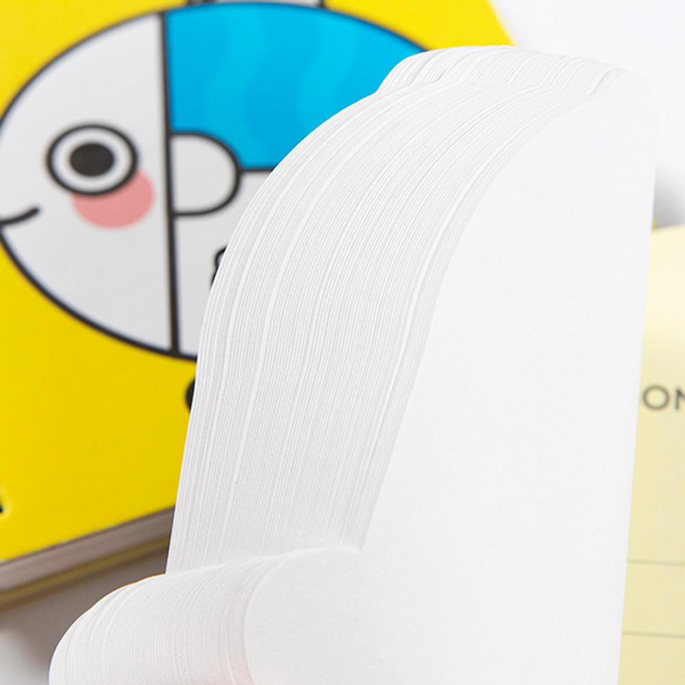 140 pages - DESIGN IVY Ggo deung o spiral bound blank notepad