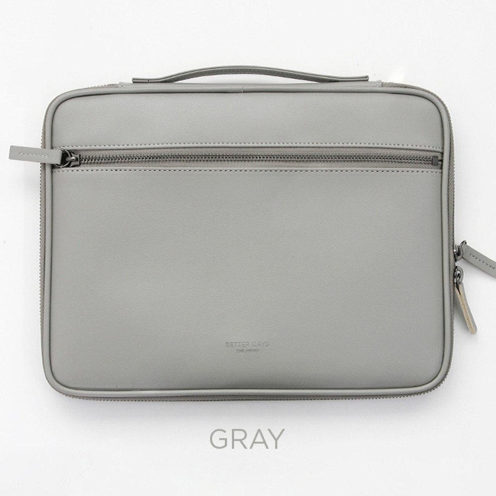 Gray - GMZ The Memo iPad tablet PC 11 inches sleeve pouch case