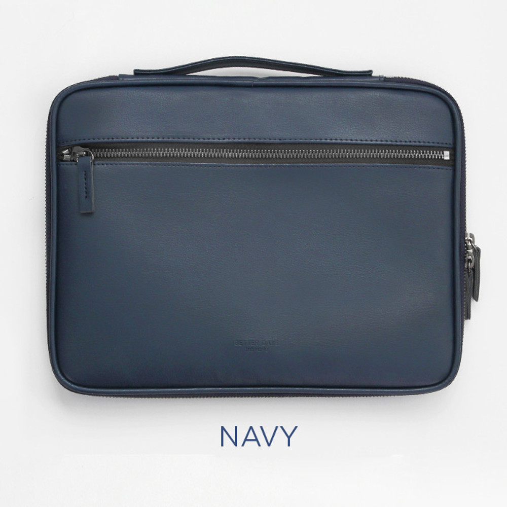 Navy - GMZ The Memo iPad tablet PC 11 inches sleeve pouch case