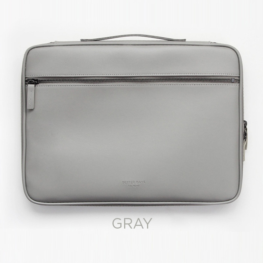 Gray - GMZ The Memo 13 inches laptop PC sleeve pouch case