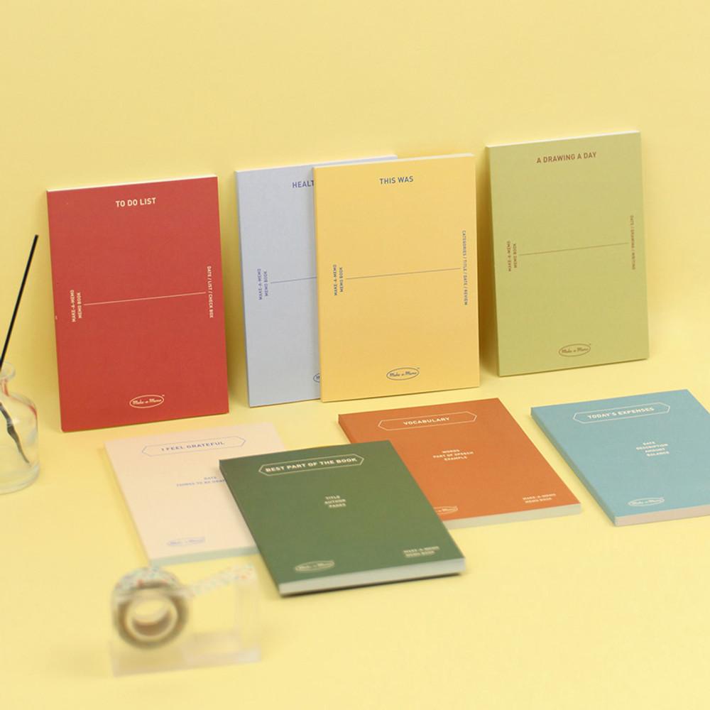 PAPERIAN Make a memo A6 notebook