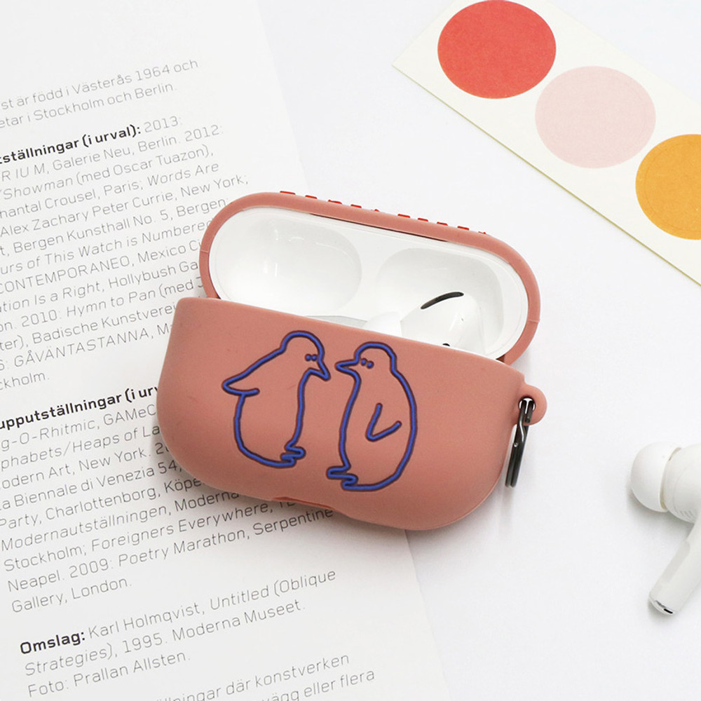 Pink Penguin - ROMANE Donat Donat wild AirPods Pro silicone case cover