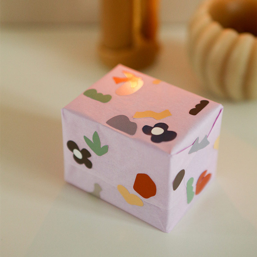 Usage example - Dailylike Mural removable paper diary deco sticker seal