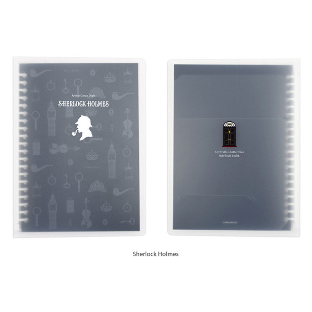 Sherlock Homles - Bookfriends World literature A5 20 ring binder with 60 sheets