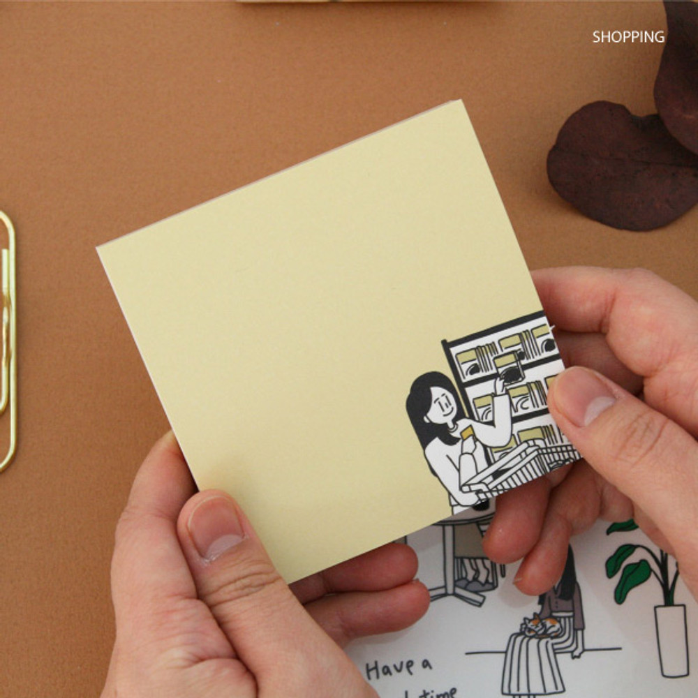 Shopping - DESIGN GOMGOM My You illustration memo notepads