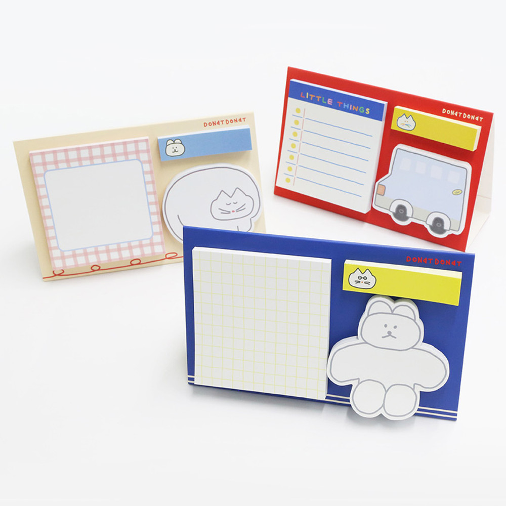 ROMANE Donat Donat sticky memo notepad set