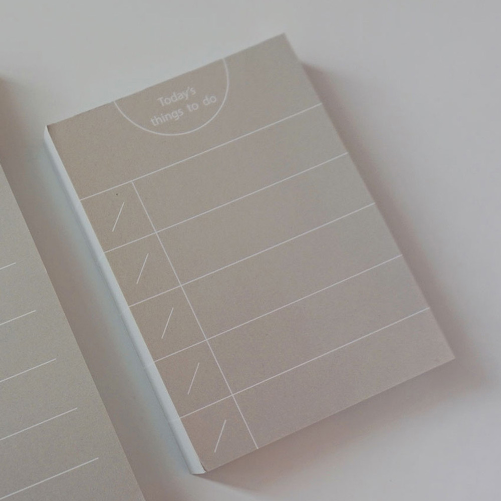 Weekly - Today's things to do small memo checklist planner notepad