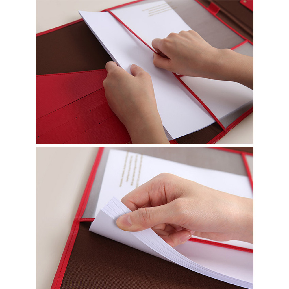 Store up to 100 sheets
