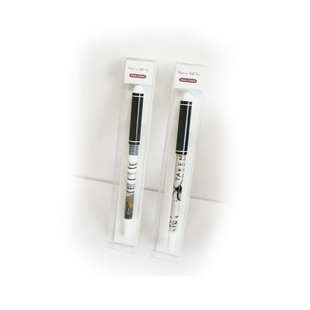 Package for Black photo pen 0.5mm