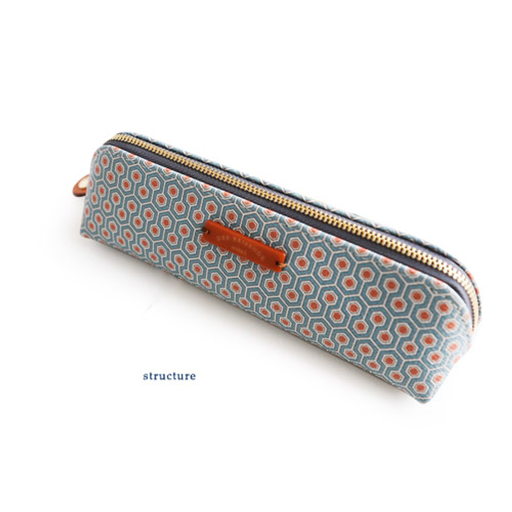 Structure - Der reisende pencil case