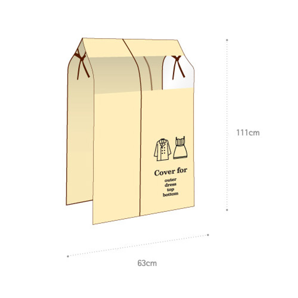 Size of Clothes Suit Garment Storage Bags dust proof cover