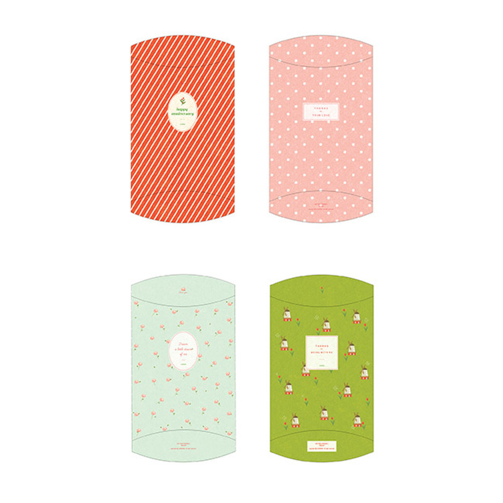 Set of Patterned gift paper bags