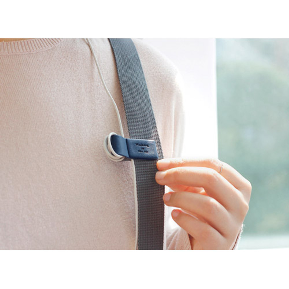 Example of usage - earphone cable organizer
