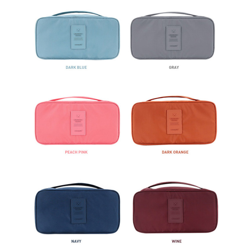 Colors of Travel underwear pouch bra bag ver.2