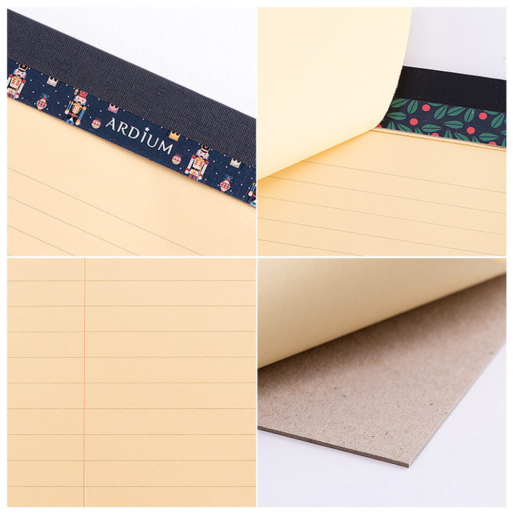 Detail view of Stylish Pattern A4 memo pad notebook