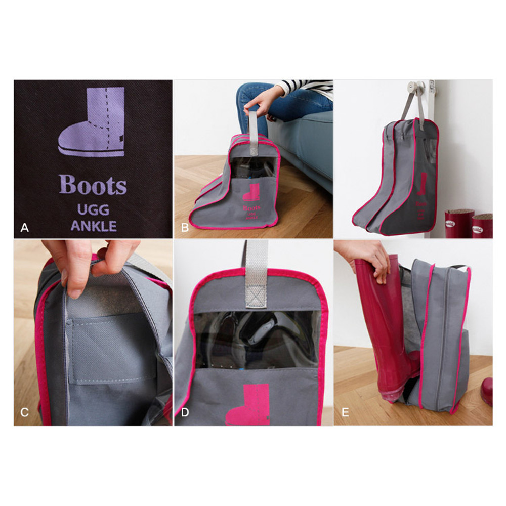 Detail of Boots storage bag Dust-proof cover ver.2
