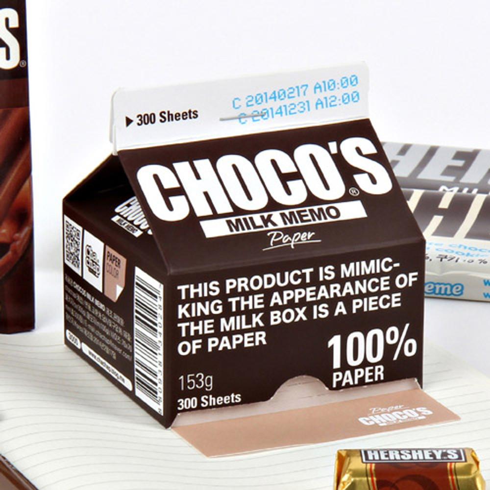 Chocos milk memo pad 300 sheets