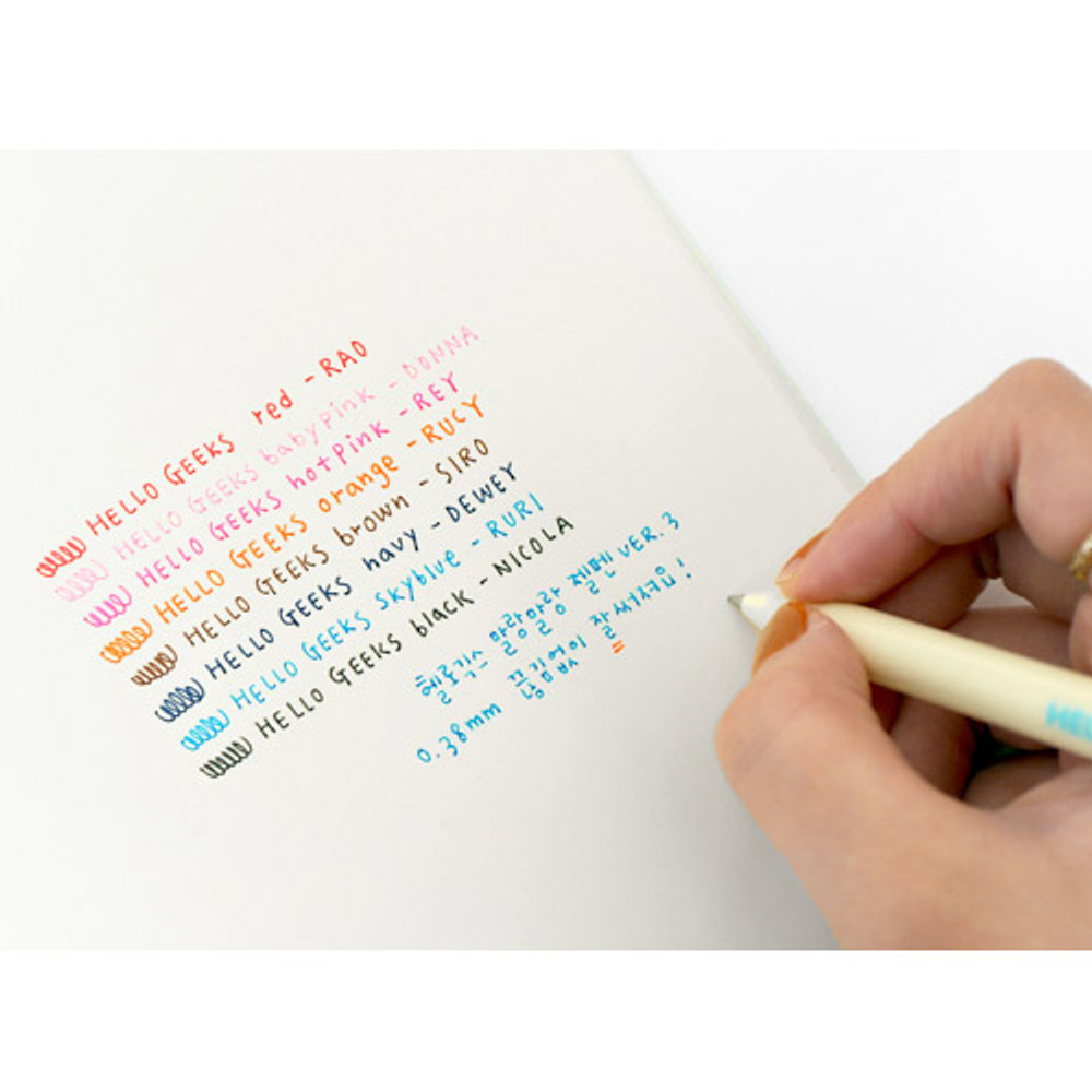 Ink color